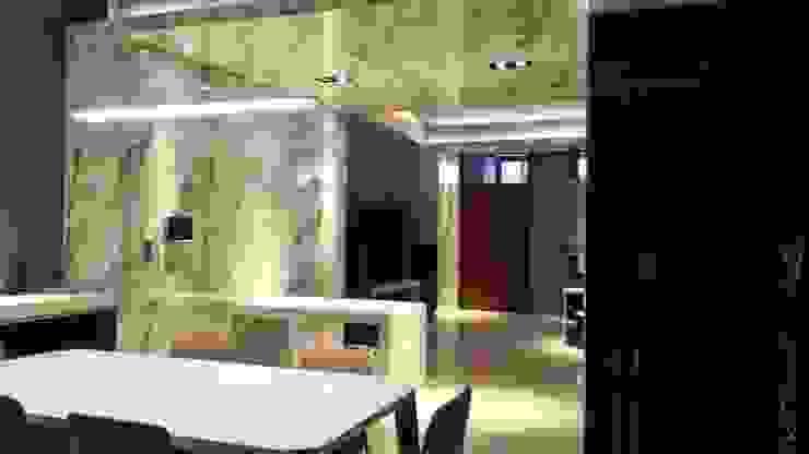 Livings de estilo moderno de 勻境設計 Unispace Designs Moderno