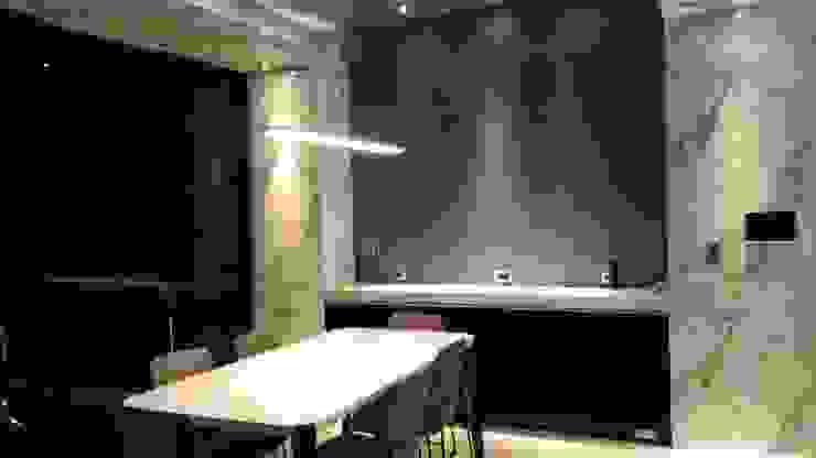 Comedores de estilo moderno de 勻境設計 Unispace Designs Moderno