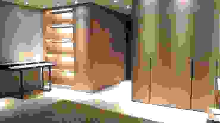 Dormitorios de estilo moderno de 勻境設計 Unispace Designs Moderno