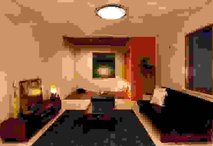 レアージュRハウス新百合ヶ丘 王禅寺邸 PROSPERDESIGN ARCHITECT OFFICE/プロスパーデザイン トロピカルデザインの リビング