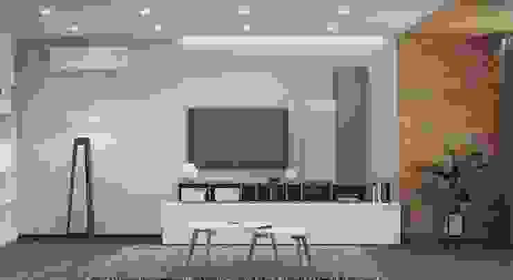 ДизайнМастер Modern living room White