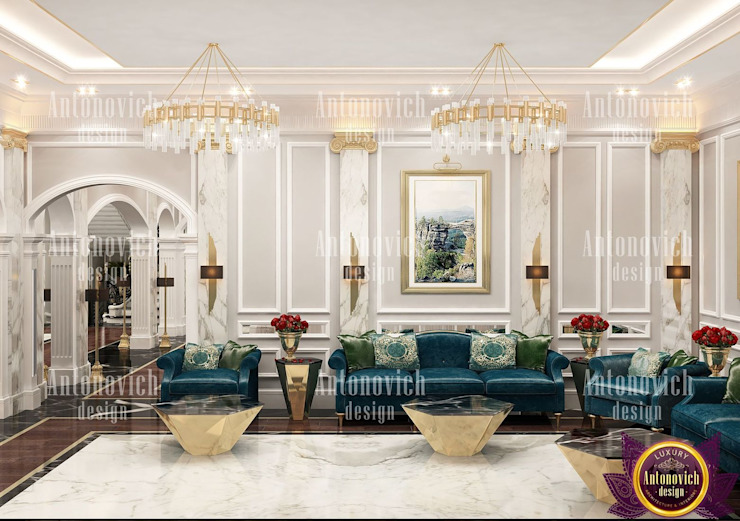 by Luxury Antonovich Design Сучасний