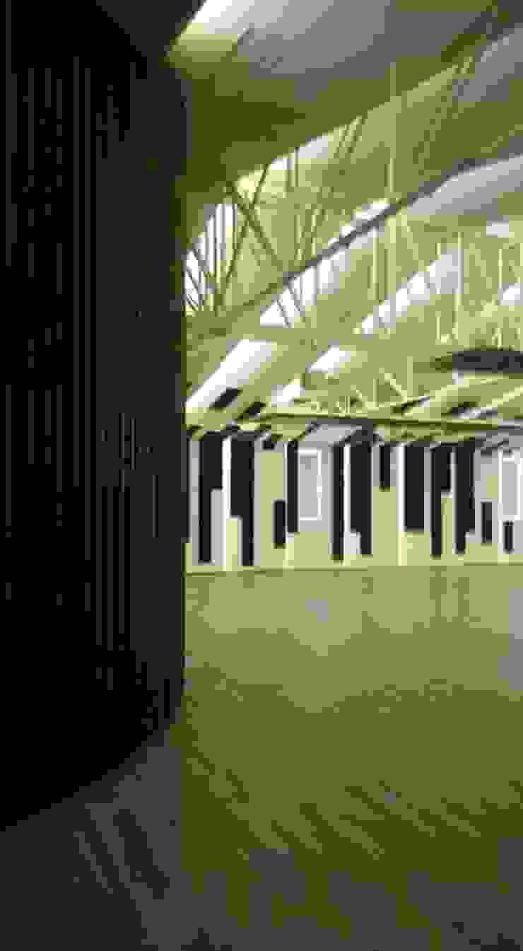 FEDEARROZ Bodegas de estilo moderno de arquitectura sostenible colombia Moderno Hierro/Acero