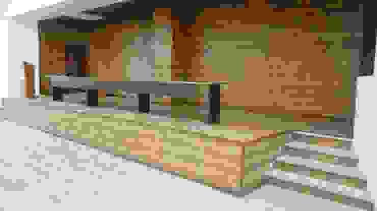 FEDEARROZ de arquitectura sostenible colombia Moderno Madera Acabado en madera
