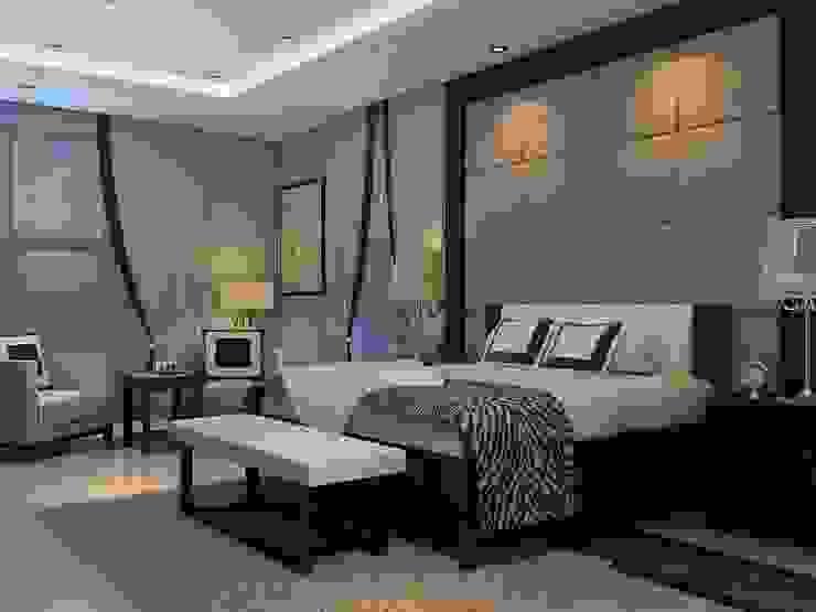 JC Residence Kamar Tidur Modern Oleh EquiL Interior Modern