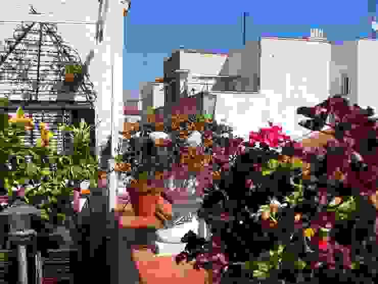Reforma integral de ático en el Rastro Balcones y terrazas de estilo ecléctico de Reformmia Ecléctico