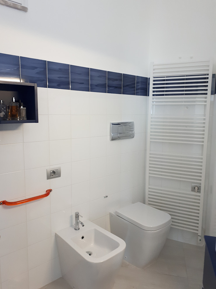 SUPER BLOC SRL Ванна кімнатаПрикраса Синій