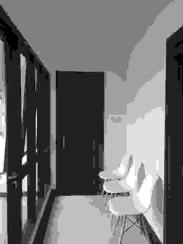 Koridor Koridor & Tangga Modern Oleh Kahuripan Architect Modern Batu Bata