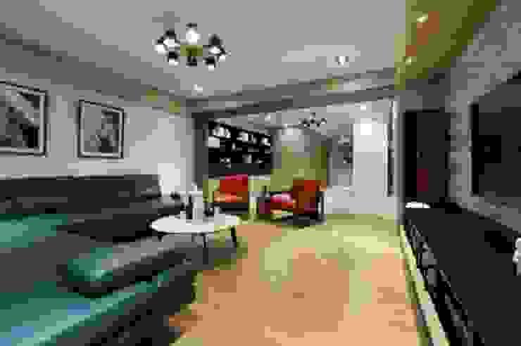 人文自然派的no.229舍 现代客厅設計點子、靈感 & 圖片 根據 喬克諾空間設計 現代風