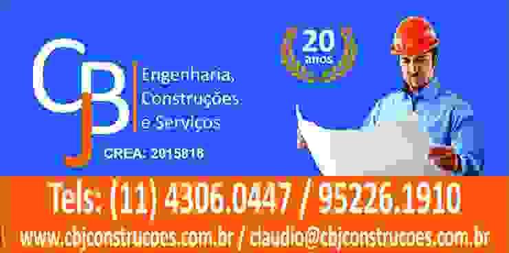 CBJ Construções por CBJ Construções e Serviços Colonial Ardósia