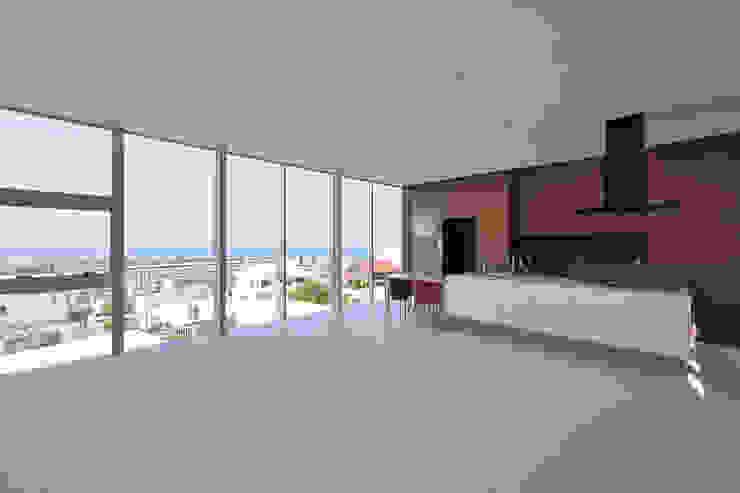 Moderne Wohnzimmer von プラソ建築設計事務所 Modern