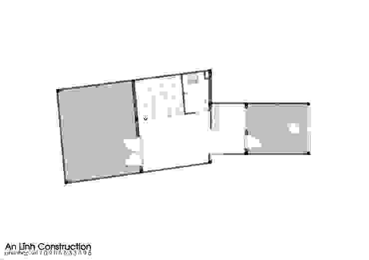 Mẫu thiết kế nhà phố 5 tầng quận 11 bởi CÔNG TY THIẾT KẾ XÂY DỰNG AN LĨNH