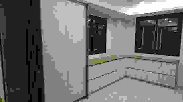 3F更衣室 根據 窩居 室內設計裝修 北歐風 MDF
