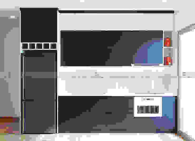 Tủ bếp Nhà bếp phong cách hiện đại bởi homify Hiện đại