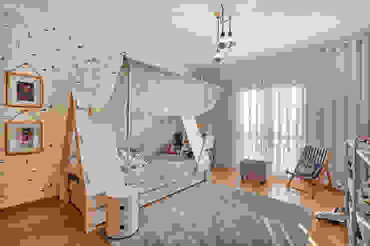 ShiStudio Interior Design 嬰兒/兒童房床具與床鋪