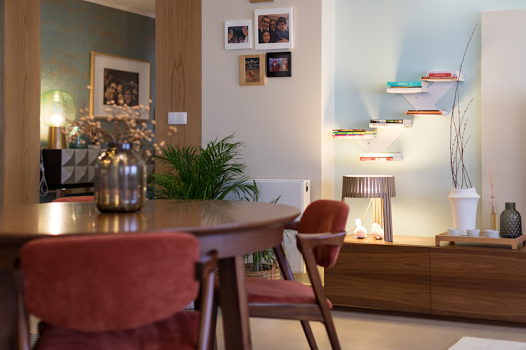 ShiStudio Interior Design Ruang Keluarga Gaya Skandinavia