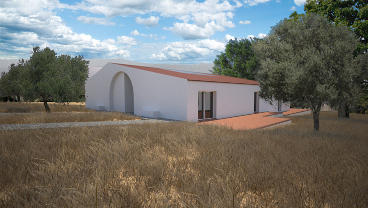Country house by André Pintão, Country