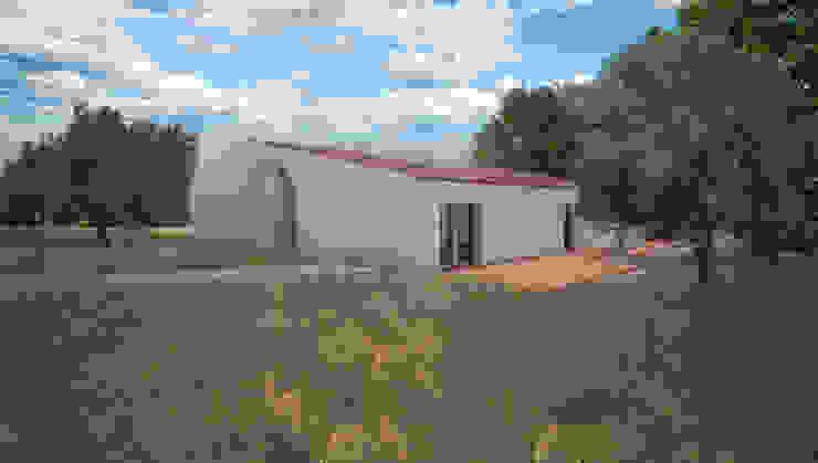 Casas de campo de estilo  por André Pintão,