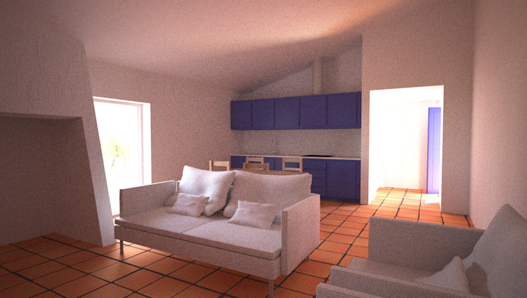 Living room by André Pintão, Country