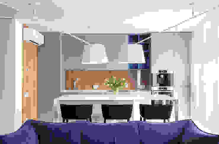 Comedores de estilo moderno de U-Style design studio Moderno