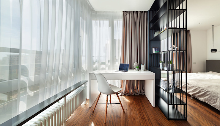 Oficinas de estilo moderno de U-Style design studio Moderno