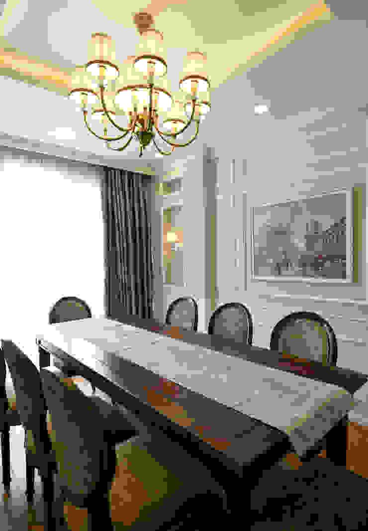 DỰ ÁN THIẾT KẾ THI CÔNG : CẢI TẠO NHÀ PHỐ – NHÀ Ở TƯ NHÂN Phòng ăn phong cách hiện đại bởi Archifix Design Hiện đại