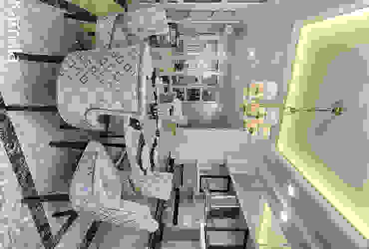 Private Residence @ Venice, PIK Ruang Makan Modern Oleh Kamala Interior Modern