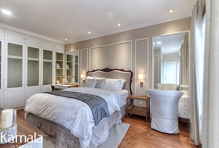 Private Residence @ Venice, PIK Kamar Tidur Modern Oleh Kamala Interior Modern