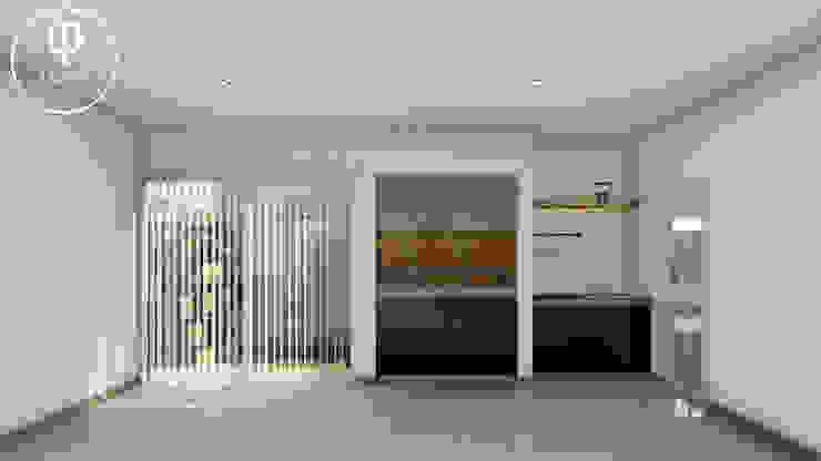 CASA AP Garajes de estilo minimalista de ARBOL Arquitectos Minimalista