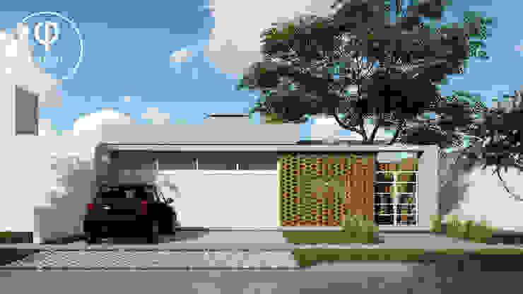 CASA AP Casas de estilo minimalista de ARBOL Arquitectos Minimalista