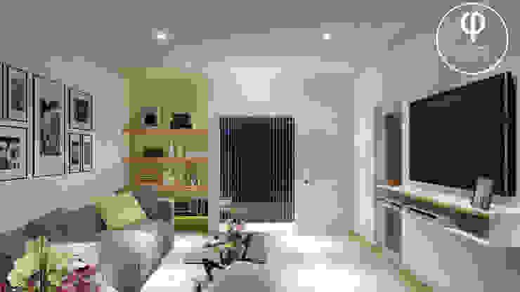 CASA AP Livings de estilo minimalista de ARBOL Arquitectos Minimalista