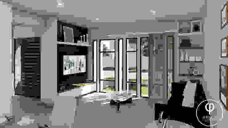 CASA PI. Livings de estilo minimalista de ARBOL Arquitectos Minimalista