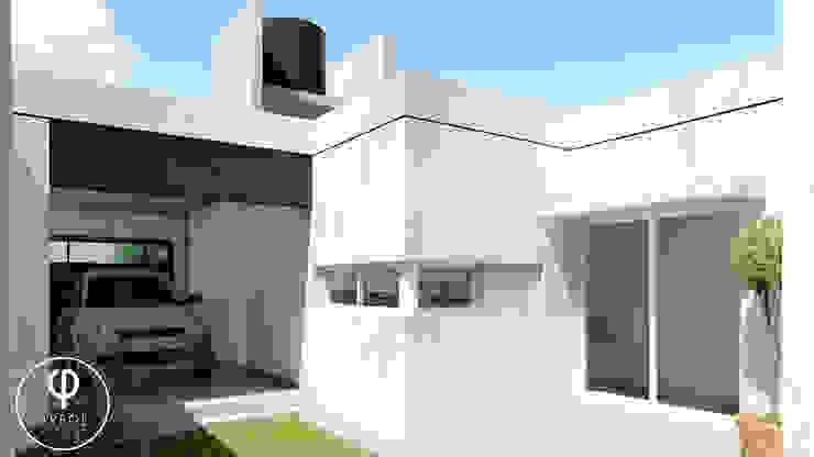 CASA PI. Garajes de estilo minimalista de ARBOL Arquitectos Minimalista
