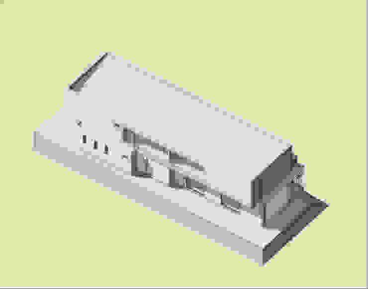 Volumen y orientación de BIM Urbano Minimalista Metal