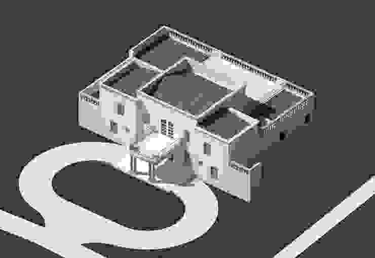 Modelo 3D de BIM Urbano Clásico Ladrillos