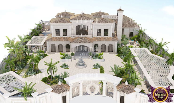 Beautiful Architectural project from Katrina Antonovich Classic style houses by Luxury Antonovich Design Classic