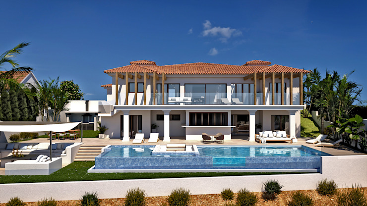 Expansion of villa in Rojales (Alicante) Pacheco & Asociados 房子