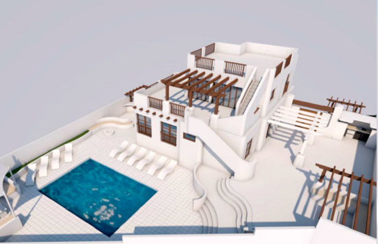 Expansion of Villa in Los Balcones, Alicante Pacheco & Asociados 房子 White