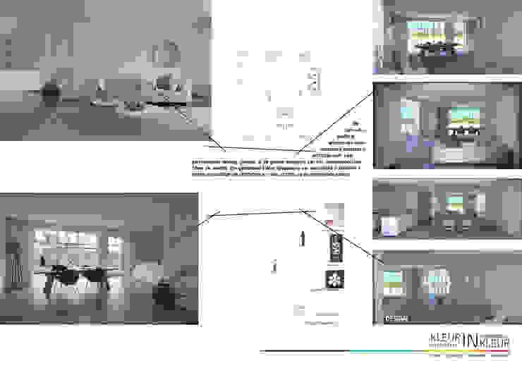 design + eindresultaat Minimalistische woonkamers van KleurInKleur interieur & architectuur Minimalistisch