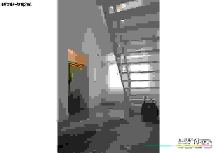 minimalistisch interieur Minimalistische gangen, hallen & trappenhuizen van KleurInKleur interieur & architectuur Minimalistisch