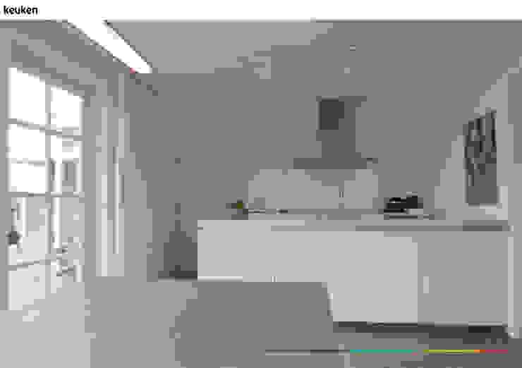 minimalistisch interieur Minimalistische keukens van KleurInKleur interieur & architectuur Minimalistisch