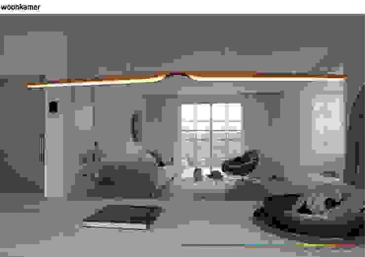 minimalistisch interieur Minimalistische woonkamers van KleurInKleur interieur & architectuur Minimalistisch