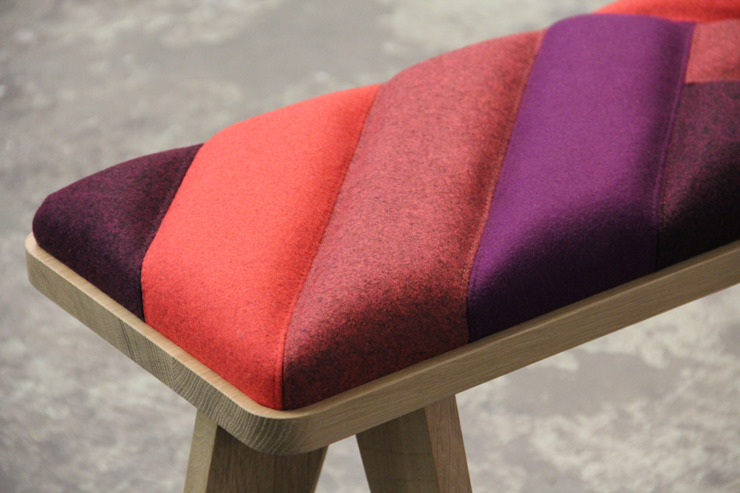 eclectic  by Studio Merel Karhof, Eclectic Solid Wood Multicolored