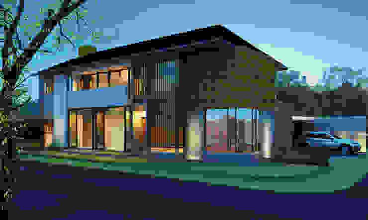 Permata Bumi House:modern  oleh Kahuripan Architect, Modern