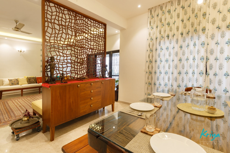 Classic Revive - Prestige Oasis Classic style dining room by KRIYA LIVING Classic