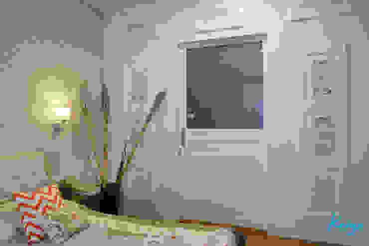 Nowoczesna sypialnia od KRIYA LIVING Nowoczesny