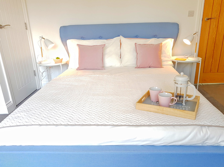 Bedroom Спальня в скандинавском стиле от THE FRESH INTERIOR COMPANY Скандинавский