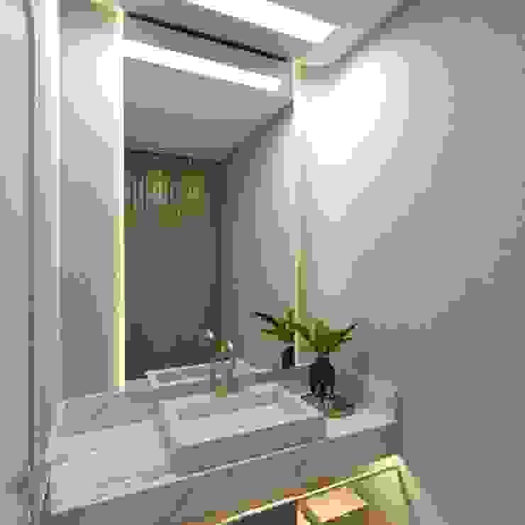 Depois Letícia Saldanha Arquitetura Banheiros modernos