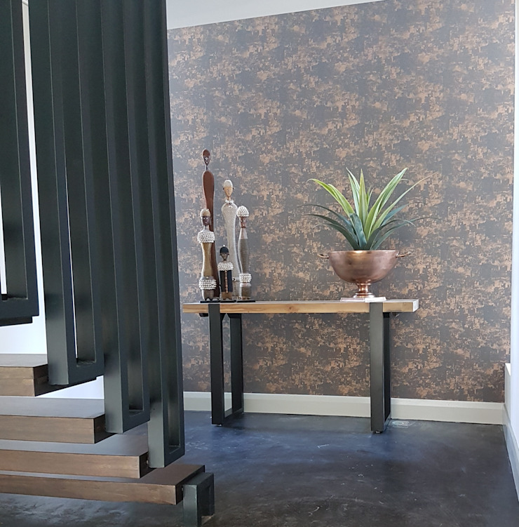Copper & Grey Tones by Sophistique Interiors Modern