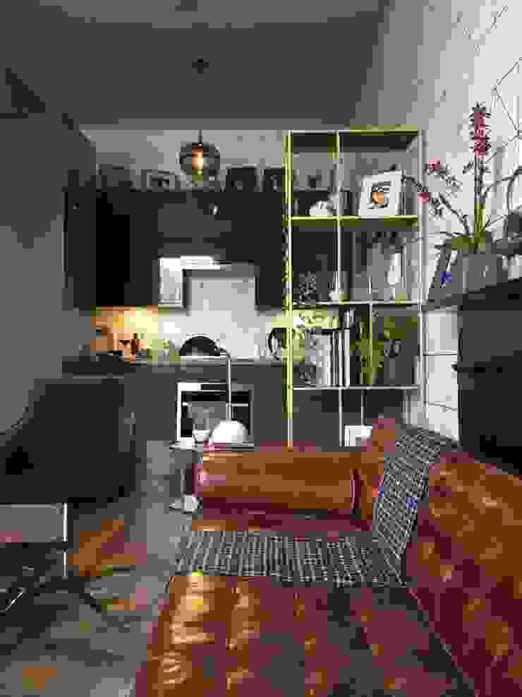 Belsize Park Flat Moderne Küchen von Orkun İndere Interiors Modern MDF